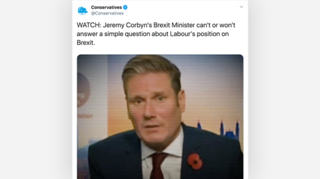 'Fake moment that never happened': Piers Morgan brands Tory chairman 'shameless' over doctored election video
