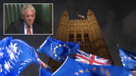 'Biggest mistake since the war': Former UK House Speaker Bercow's Brexit admission shocks...NO-ONE on social media