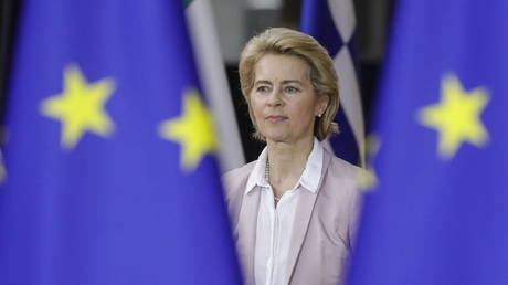 Future European Commission president Ursula Von der Leyen