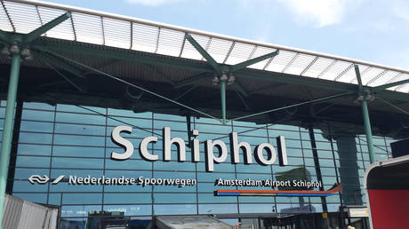 Amsterdam airport Schiphol on partial lockdown as military police investigate 'suspicious situation' on plane