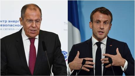 'Once NATO recovers, we'll be there': Russian FM Lavrov jokes about Macron's 'brain-dead NATO' diagnosis