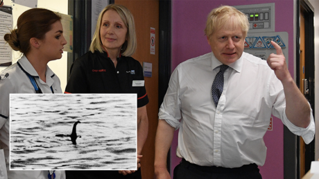 'Pure Loch Ness Monster stuff': BoJo rejects claims that public health service would be for sale in post-Brexit US trade talks