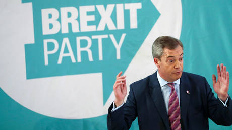 Farage accused of 'bottling it,' as Brexit Party leader declares his party WILL NOT fight for Tory-held seats in snap election