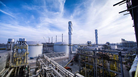 Saudi Aramco's Wasit Gas Plant in Saudi Arabia