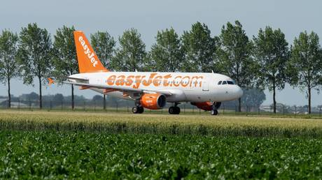 FILE PHOTO: EasyJet plane © Global Look Press / Alexander Ludger