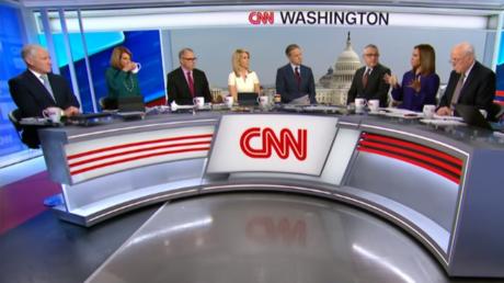 A CNN panel discusses the impeachment hearings © YouTube / CNN