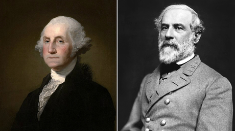 Students want the option to remove George Washington (left) and Robert E Lee (right) from diplomas. © Wikimedia Commons