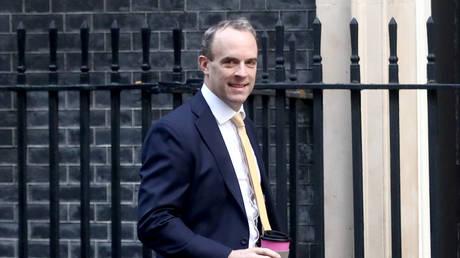 Britain's Foreign Secretary Dominic Raab © Reuters / Simon Dawson
