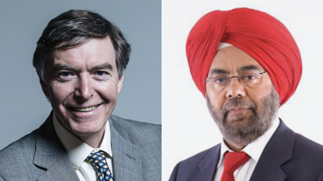 (L) Tory candidate Philip Dunne © parliament.uk (R) Labour candidate Kuldip Sahota © telford.gov.uk