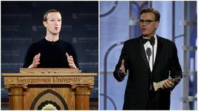 'Crazy lies' vs. protected speech: Zuckerberg & Sorkin clash over who is a bigger hypocrite on First Amendment