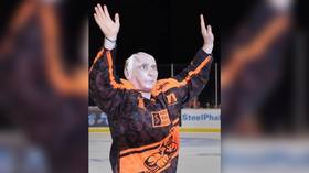 'From Russia with love!' Russian hockey player dons 'Putin costume' for Halloween