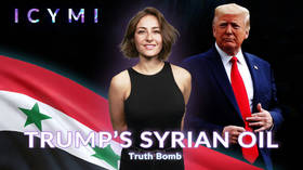 #ICYMI: Truth bomb – US president publicly admits he only wants Syria's oil. Now what?