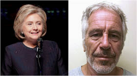 'How did you kill Jeffrey Epstein?' Hillary Clinton bursts into laughter over dead body joke… again