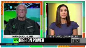 Jesse Ventura: Terrorism is a concept you can't fight with a military