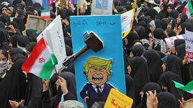 'Death to America!' Thousands of Iranians rally outside former US Embassy, marking 1979 takeover of the mission