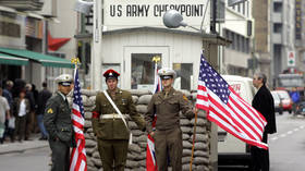 No more US soldiers at Checkpoint Charlie: Berlin authorities ban actors over tourist harassment claims
