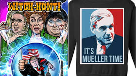 Comedian John Oliver mocks Trump's sales of 'witch hunt' merch… after #Resistance did the same thing