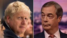 Trump urges his UK 'friends' Boris Johnson & Nigel Farage to unite ahead of Brexit