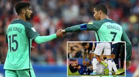 Ronaldo sends touching message of support to Portugal teammate Gomes after horror ankle injury