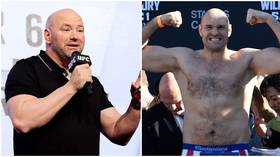 'Why come over here and get smashed?': Dana White pours cold water on Tyson Fury to UFC rumors
