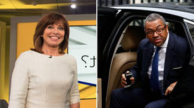 Sky anchor fumes at empty chair after Tory Chairman James Cleverly is a no-show