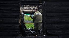 Craziest smoke test ever: Firefighter chief in tiny Siberian village suspected of five arsons 'to check brigade's preparedness'