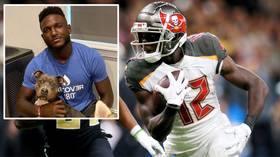 How NFL wide receiver Chris Godwin is helping save dogs... by catching passes