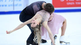 Passion and tenderness: Russian skaters tell love story on ice to claim career maiden Grand Prix win (PHOTOS)