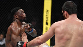 'He kicked his chin into orbit': Russia's Ankalaev lights up UFC Moscow with HUGE front-kick KO (VIDEO)
