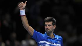 Solid and confident: Novak Djokovic destroys debutant Matteo Berrettini in Nitto ATP Finals curtain-raiser