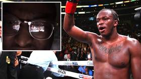 KS-eye: 11,000 fans watch KSI vs Logan Paul live stream via REFLECTION in fan's glasses
