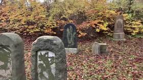 Over 80 gravestones VANDALIZED at Jewish cemetery in Denmark ahead of Kristallnacht anniversary (VIDEO)