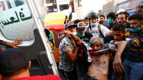 Iraq protests intensify: 4 demonstrators killed, 100+ injured in fresh clashes with security forces in Baghdad (VIDEOS)