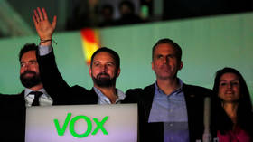 Eurosceptics rejoice as Vox becomes 3rd most powerful party in Spanish election