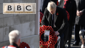 'Boris Broadcasting Corporation': BBC cover up BoJo's Remembrance Sunday wreath-laying gaffe with 2016 VIDEO, branded 'fake news'