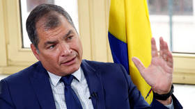 Ex-Ecuador leader Correa says Bolivia's Morales was forced out in 'coup' and OAS is 'an instrument of US domination'