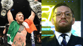 Yesterday's 'double champ': 3 yrs on from Conor McGregor's signature victory, it remains his most recent win