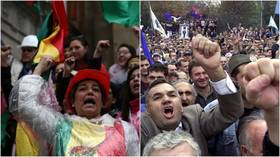 Events in Bolivia follow script of 'color revolution' – the antithesis of democracy
