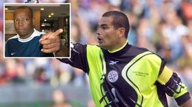 Shot stopper: Ex-Colombia ace Asprilla says he persuaded hitman not to kill Paraguay goalkeeping legend Chilavert