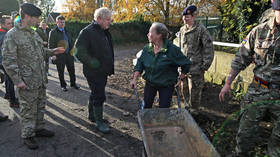 'Took your time Boris, where have you been?' BoJo receives rollicking from no-nonsense Yorkshire flood victims (VIDEOS)