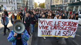 System in crisis! Protests rage after desperate French student sets himself on fire over financial pressures