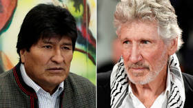 'Evo, I hope your exile is short': Roger Waters sends message of support to Bolivia's Morales (VIDEO)