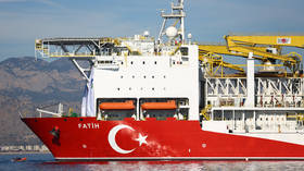 Turkey's drill ship 'Fatih' begins operations off NE Cyprus – vice president
