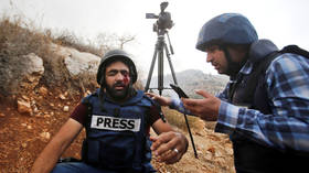 Palestinian journalist loses an eye after being hit by Israeli rubber bullet at West Bank land seizure protest (GRAPHIC)