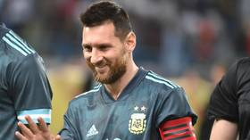 'He told me to shut my mouth': Lionel Messi and Brazil coach Tite exchange heated words during Argentina-Brazil clash