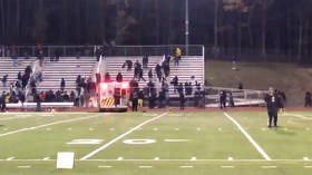 2 injured, fans flee in panic as shooting erupts at high school football game in Pleasantville, New Jersey (VIDEOS)