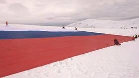 Putin's bikers invade Antarctica, occupy abandoned base… all just to unfurl a GIANT Russian flag
