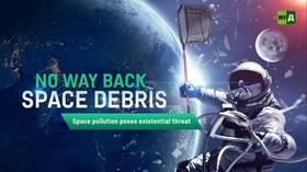 No way back space debris