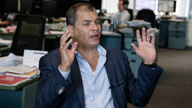 'Censored because they gave me platform': Ecuador's ex-leader Correa slams sudden move to cut off RT Spanish in his country