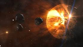 NASA tracking THREE asteroids headed this way, two spotted just 2 days ago